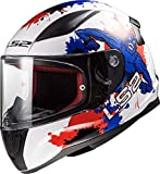 LS2 Casco per bambini Rapid Mini Monster, S