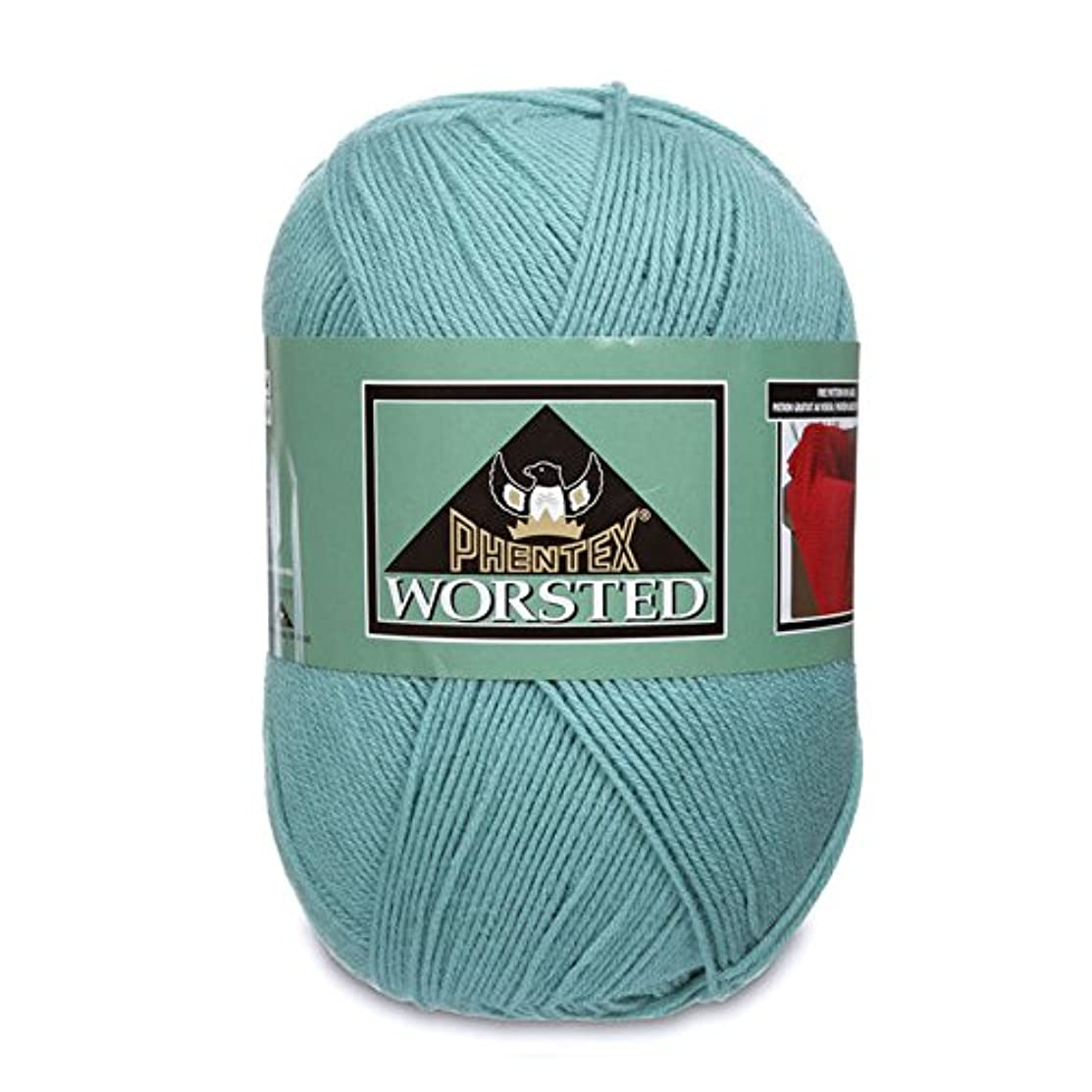 Phentex Worsted Yarn, 14 Ounce, Light Green, Single Ball