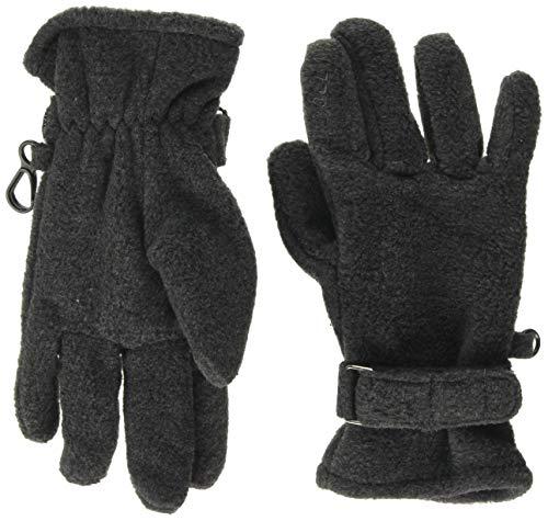 Döll Unisex Fingerhandschuhe Fleece Handschuhe, Grau (Anthrazit Melange 8810), 5 (Herstellergröße: 5)