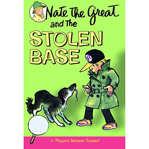 『Nate the Great and the Stolen Base』のカバーアート
