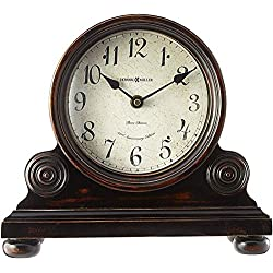 Howard Miller Murray Mantel Clock 635-150 – Vintage Design with Quartz, Triple-Chime Movement