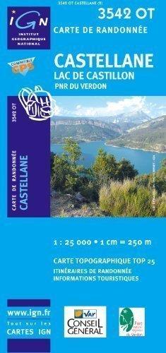 [[Castellane/Lac De Castillon GPS: Ign3542ot]] [By: IGN] [December, 2006]