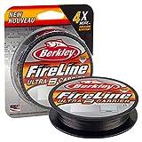 Berkley Fireline Ultra 8, fil de pêche tresse 8 brins Superline, résistante et sensible, brochet,...