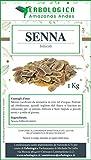 Senna o Cassia follicoli interi 1 kg 100% Pura – Lassativo naturale contro la stitichezza e l'intestino pigro   Aiuta a regolare il transito intestinale - Erbologica Amazonas Andes