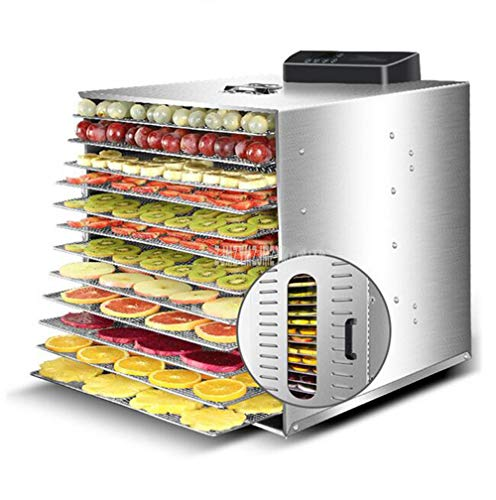 Find Discount MICHEN 12 Layer 1000W Stainless Steel Food Dehydrator Fruit Vegetabl Drying Machine Sn...