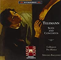 テレマン:組曲と協奏曲集(バリアーノ/コレギウム・プロ・ムジカ)