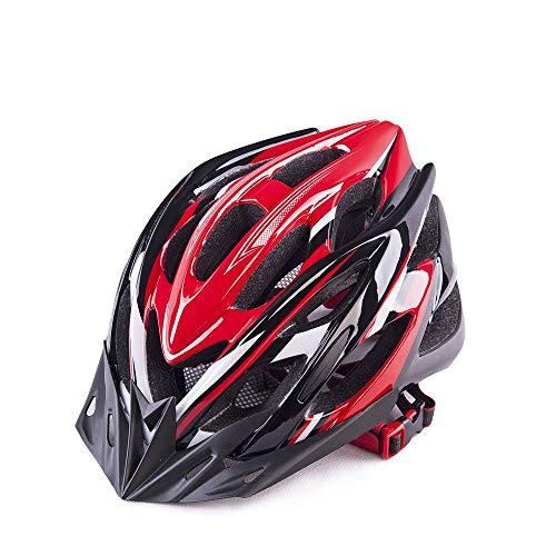CNTK Fietshelm Ultra Light Verstelbare fietshelm voor volwassenen mannen en vrouwen Mountainbike Fietshelm gemonteerd Fietshelm voor op straat Urban Mountain