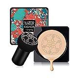 Mushroom Head Air Cushion CC Cream Foundation Cover Concealer Nude Makeup Moisturizing Brightening Pigment Liquid Foundation, Even Skin Tone Makeup Base BB