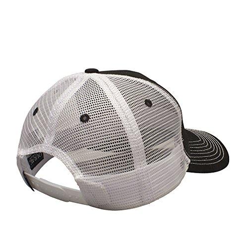 Ouray Sportswear NCAA Montana Grizzlies Sideline Cap, Black/White