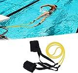 YQZ Correa para el Tobillo de natación, Nadador estacionario Fitness Swim Lap Swim Correa de...