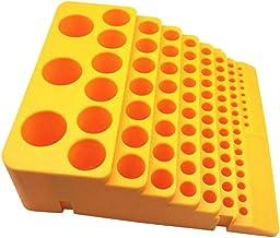 PETSOLA Brocas Organizador Contenedor De Almacenamiento Plástico Rotary Tool Holder A