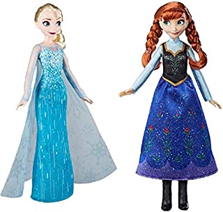 Acme Communications Disney Frozen Classic Fashion Elsa Doll for Ages 3 and up with Classic Fashion Anna Doll