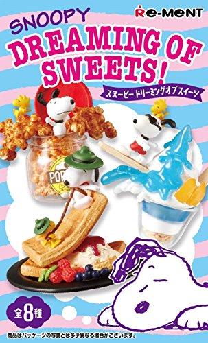 スヌーピー Dreaming of Sweets! BOX商品 1BOX=8個入り、全8種類