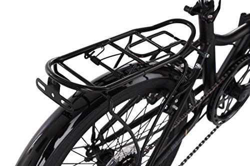 KS Cycling Faltrad Foldtech 6 Gänge Fahrrad, schwarz, 20 Zoll - 7