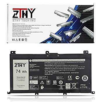 ZTHY 11.1V 74Wh 357F9 Battery Replacement for Dell Inspiron 7000 Dump 15 7566 7567 7557 7559 I7559 5576 5577 INS15PD-1548B 1548R 1748B 1748R 2548R 2548B 2748R Series Gaming Laptop 0GFJ6 71JF4