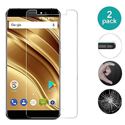 AIOIA Cristal Templado Premium para Ulefone S9 Pro【2 Paquete】, Protector de Pantalla de 9H Dureza para Ulefone S9 Pro Fácil de Instalar Sin Burbujas, Resistente a Arañazos y Rasguños