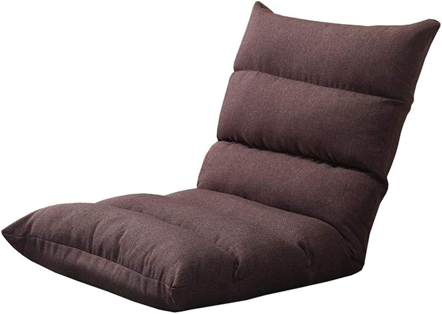 MDBLYJBay Window Chair, Lazy Sofa Foldable Computer Back Chair Floor Sofa @ (color   B)