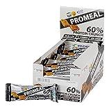 Volchem Promeal Protein Crunch 60% Barretta Proteica, Low Sugar, Gusto Cacao - Pacco da 20...