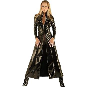 KIRALOVE Disfraz de Trinity Matrix Jacket - Cosplay - Disfraces de ...