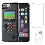 Gameboy Case for iPhone 6 /6s /7/8,Handheld Retro 36 Classic Games,Color Video Display Game Case for iPhone,Anti-Scratch Shockproof Phone Cover for iPhone WeLohas