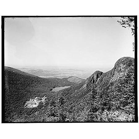 Rocks NH New Hampshire Mountains Franconia Notch INFINITE PHOTOGRAPHS Photo: Old Man White Mountains c1900 Size