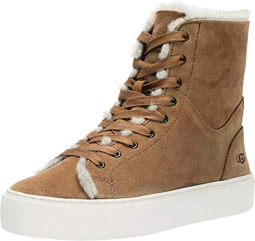 UGG Women's BEVEN Sneaker, Chestnut, 10 M US