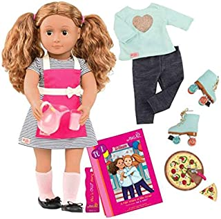Our Generation Deluxe Isa Diner Doll with Book