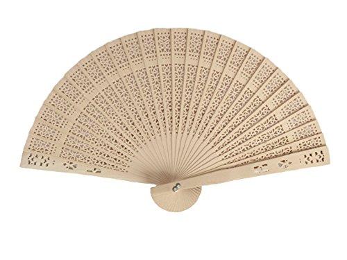 Demarkt Abanicos Plegables de Bambú de Seda de Cerezo de Seda para Mujer Abanico Plegable de Mano Tela Regalo Recuerdo Detalle 1PCS