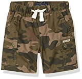 Lucky Brand Boys' Pull on Shorts, Dusty Olive Cargo, 4T