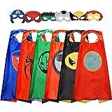 Easony Regalos Niñas 3-12 Años Superheroe Disfraz 3-12 Años...