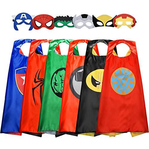 Easony Regalos Niñas 3-12 Años Superheroe Disfraz 3-12 Años Juguetes Niña Cosplay Superheroe Juguetes Al Aire Libre para Niños Juguetes Niños 3-12 Años Regalo de Cumpleaños Niñas 3-12 Años