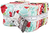 Moda Little Snippets Fat Eighth Bundle 40 Precut Cotton Fabric Quilting Assortment 55180F8