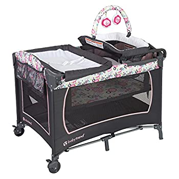 Baby Trend Lil Snooze Deluxe Nursery Center Flora