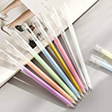 Conjunto de rotulador resaltado, bolígrafo pintado a mano, arte, pintura, marcador colorido de acuarela-Set * 10