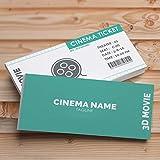 Custom Event Tickets – Frontal solamente, entrada Raffle Ticket para conciertos, bebidas gratis, bodas, eventos de trabajo o barra de fiesta