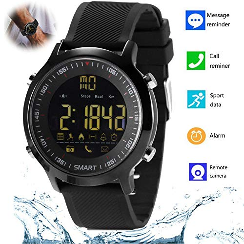 Bluetooth Smart Watch Waterproof Smartwatch Sports Smart Watches for Men Women Boys Kids Compatible with iPhone 11 XR XS 8 Plus Samsung S10e S10 Plus S9 Plus S8 A10e A20 Note 10 9 8 LG Huawei