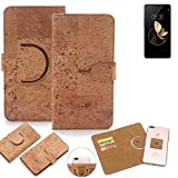 K-S-Trade® 360° Cover Cork Case For Archos Diamond Gamma