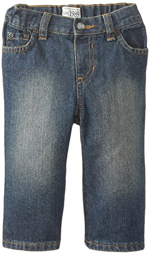 The Children's Place Baby Boys' Bootcut Jean, Dry Indigo, 12-18 Months