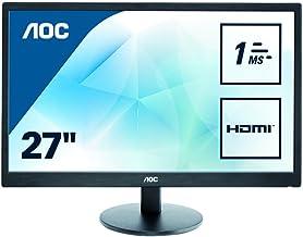 AOC E2770SH 27 INCH WIDE LED 1MS RESPONSE VGA DVI HDMI SPEAKERS VESA