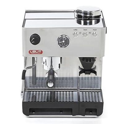 Espresso Siebträgermaschine mit integriertem Mahlwerk Lelit Anita PL42EMI