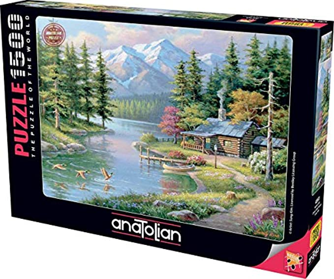 Anatolian Puzzle - Resting Canoe, 1500 Piece Jigsaw Puzzle