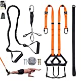Clothink Sling Trainer - Suspensión en suspensión (hasta 300 kg), color naranja