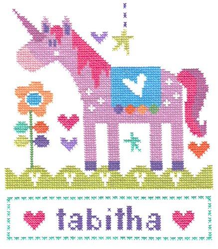 The Stitching Shed Unicorn Counted Cross Stitch kit