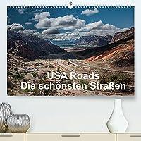 USA Roads (Premium, hochwertiger DIN A2 Wandkalender 2022, Kunstdruck in Hochglanz): Eindruecke von den schoensten Strassen der USA (Monatskalender, 14 Seiten )