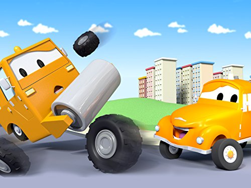 Steve the Steamroller and Tom The Tow Truck