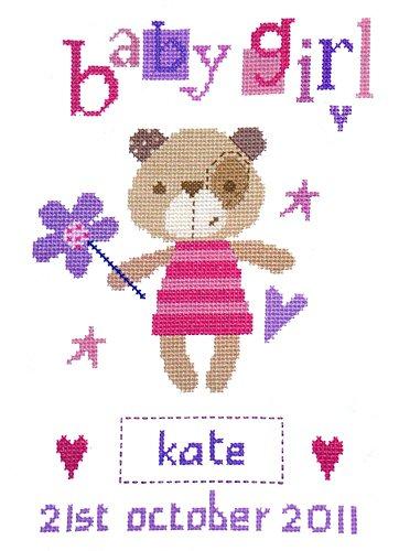 The Stitching Shed Madison Girl Cross Stitch Kit