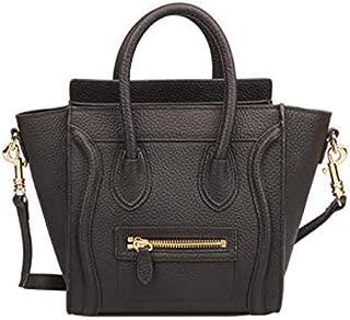 Gershimay Women's Genuine Leather Smile Crossbody Bag Small Shoulder Handbags Purse Hobo Bags