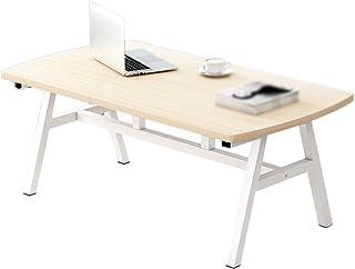HMH 木製のダイニングテーブル、大面積の金属テーブルの脚折り畳み式のコーヒーテーブルキッチンレストランレセプションルーム交渉のテーブル 便利で美しい (Color : B, Size : 80*40*45CM)