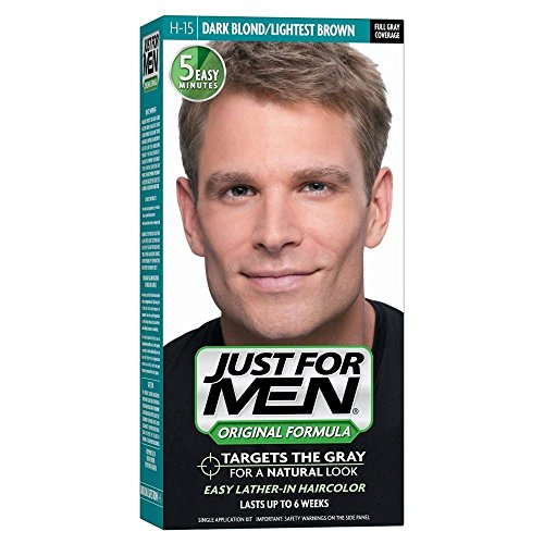 Price comparison product image JUST FOR MEN Hair Color H-15 Dark Blond 1 Each (Pack of 2)