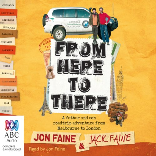 From Here to There audiobook cover art